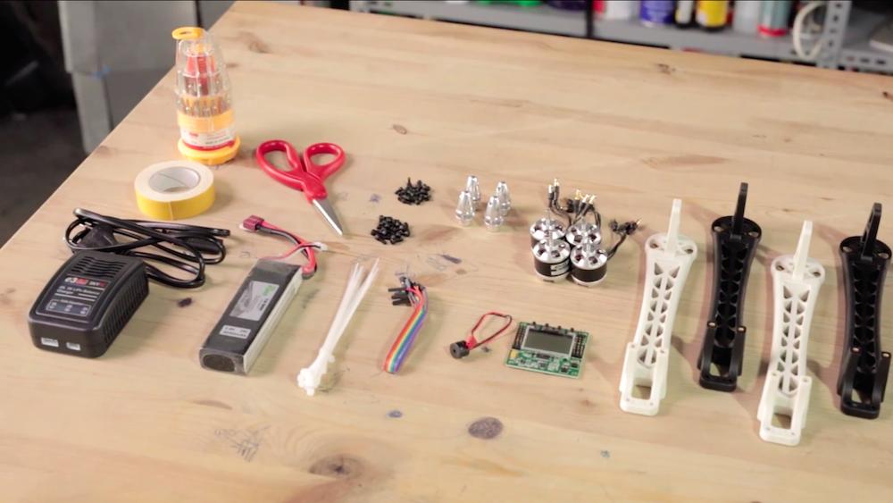 süper multikopter seti - kendin yap drone kiti (multicopter) parçaları